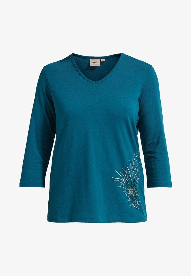 DIAZ  - T-shirt à manches longues - petrol