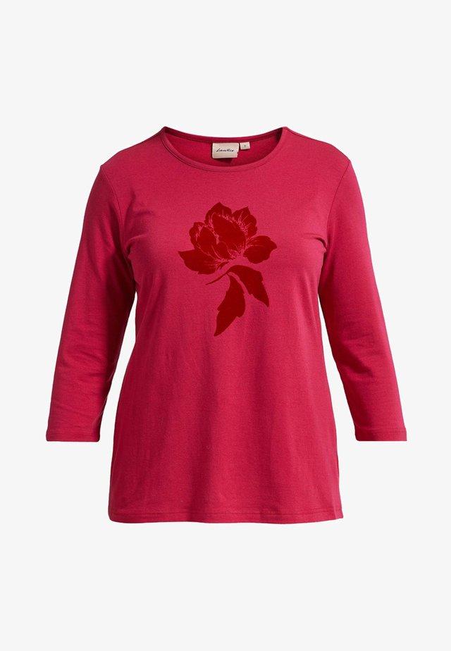 MIT ROSEN - Long sleeved top - persian red