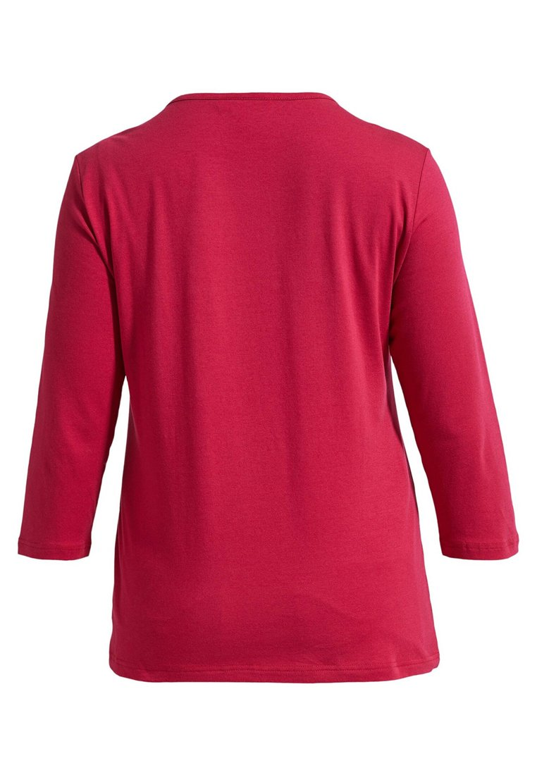 LauRie MIT ROSEN - T-shirt à manches longues - persian red
