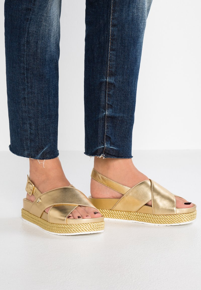 Liu Jo Jeans - PATTY - Platform sandals - gold