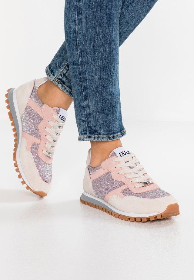ALEXA - Sneaker low - white/pink
