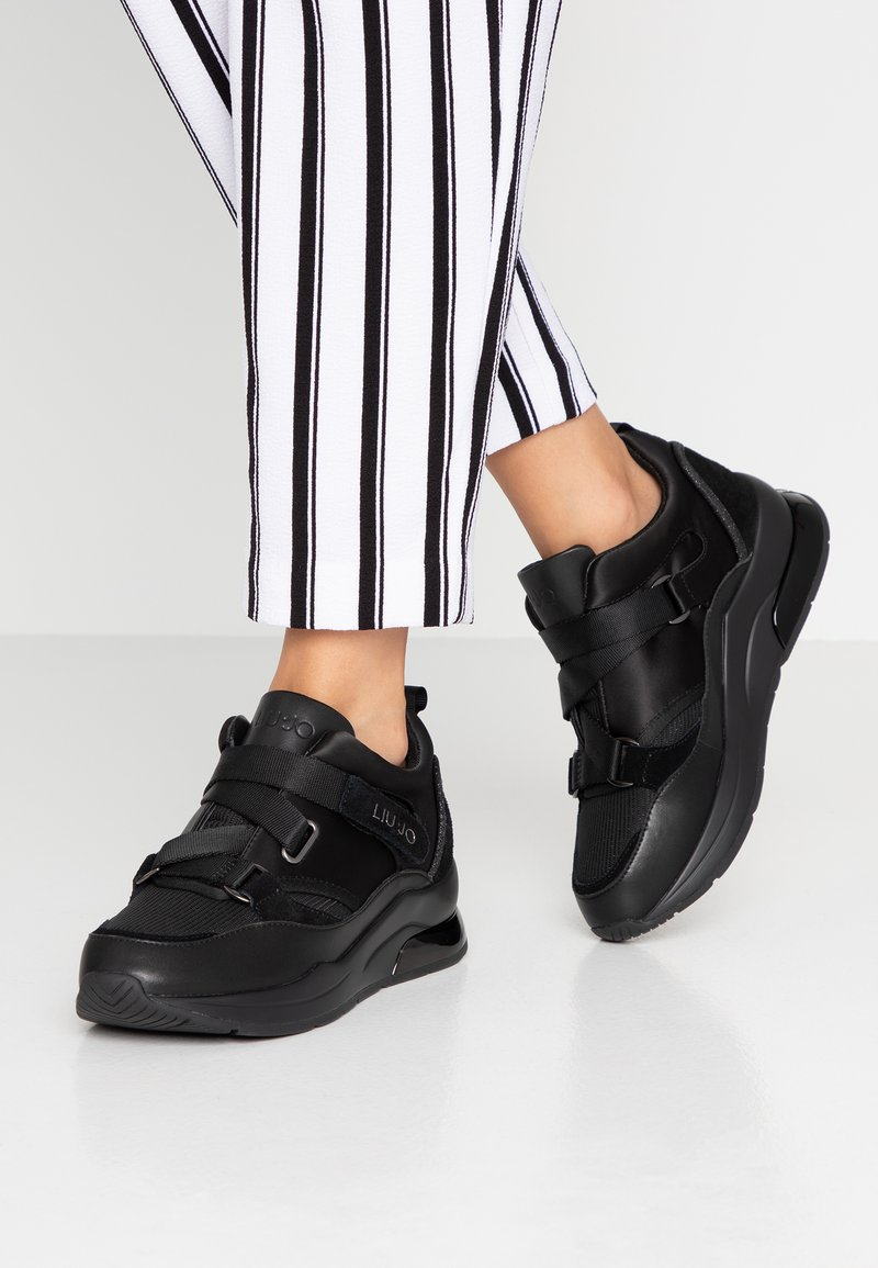 Liu Jo Jeans - KARLIE - Baskets basses - black