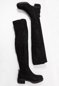 Liu Jo Jeans - NANCY - Botas mosqueteras - black - 3