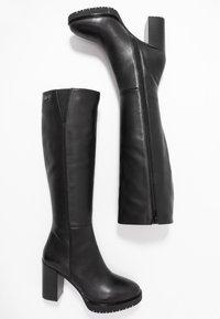 Liu Jo Jeans - ALLY - Stivali con i tacchi - black - 3