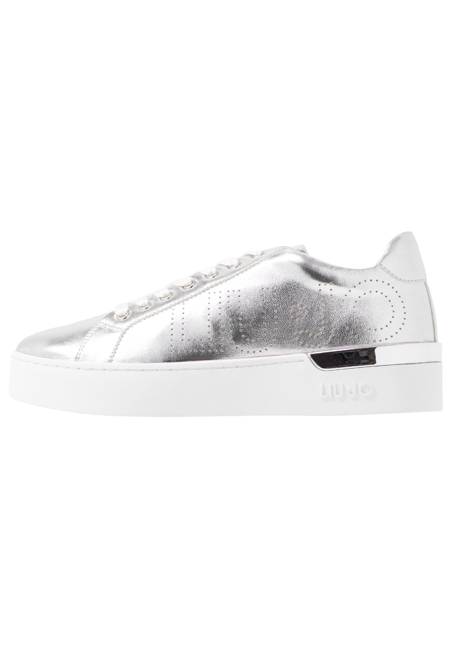 Liu Jo Jeans SILVIA - Sneakersy niskie - silver