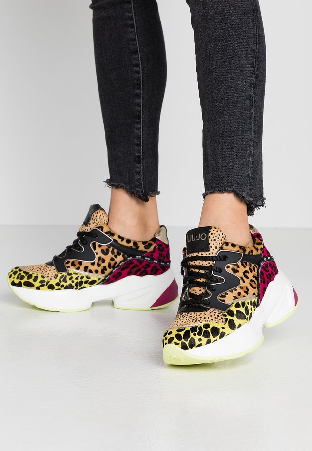 JOG - Sneakersy niskie - multicolor