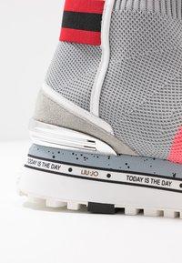Liu Jo Jeans - MAXI - Vysoké tenisky - pink/grey - 2