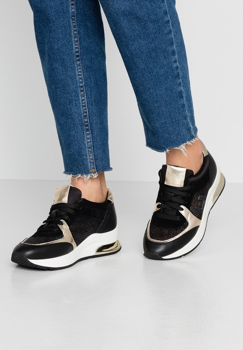 Liu Jo Jeans - KARLIE - Baskets basses - black