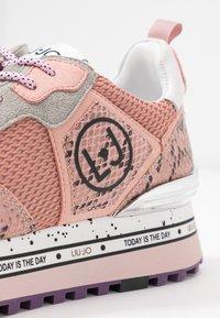 Liu Jo Jeans - MAXI - Sneakersy niskie - ligh pink - 2