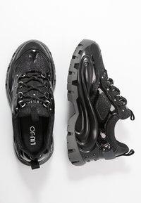 Liu Jo Jeans - WAVE - Baskets basses - black - 3