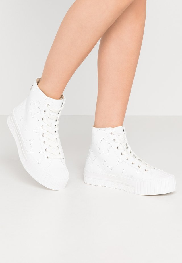 NETTIE  - High-top trainers - white