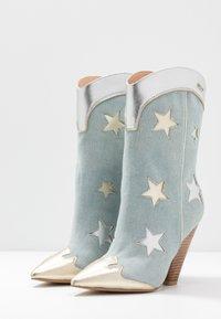 Liu Jo Jeans - GUENDA - High heeled boots - denim - 4