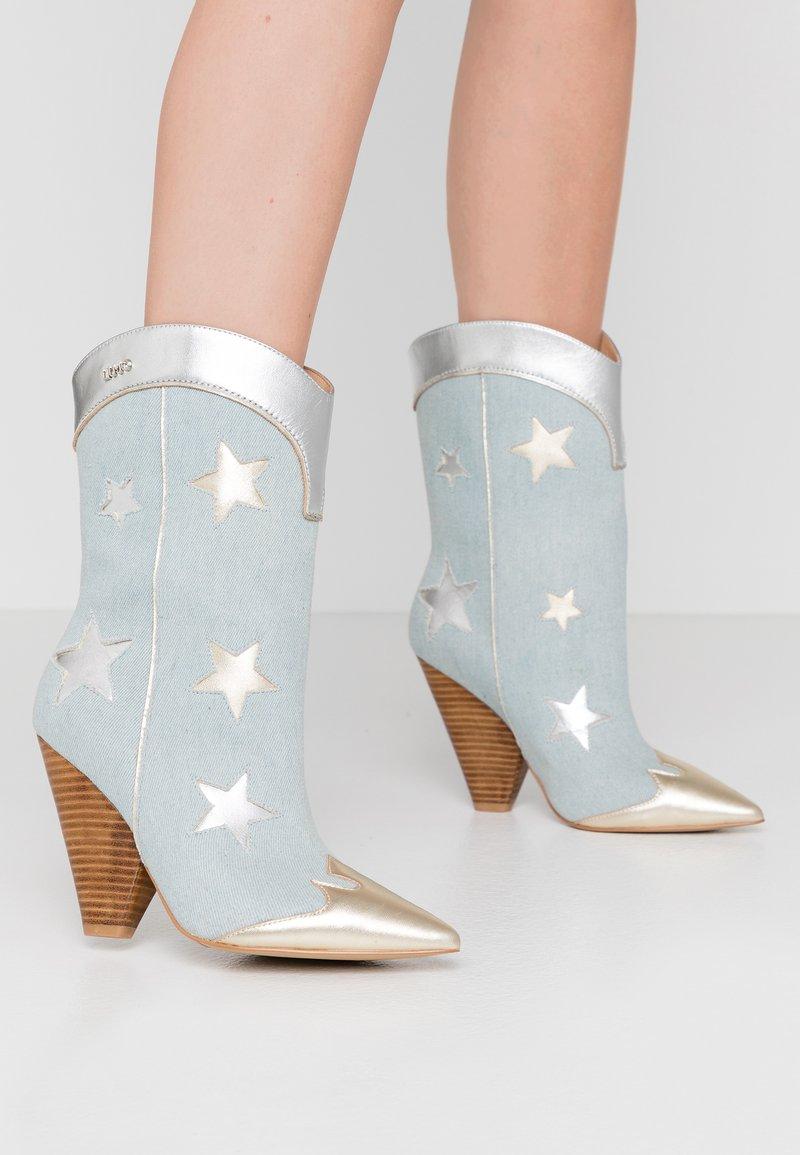Liu Jo Jeans - GUENDA - High heeled boots - denim