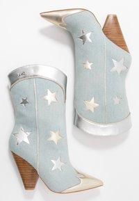 Liu Jo Jeans - GUENDA - High heeled boots - denim - 3