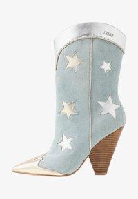 Liu Jo Jeans - GUENDA - High heeled boots - denim - 1