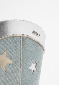 Liu Jo Jeans - GUENDA - High heeled boots - denim - 2