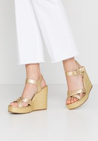 Liu Jo Jeans - LUCY  - High heeled sandals - gold - 0