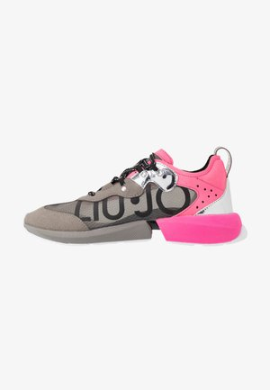 YULIA  - Sneakers - grey/fuxia