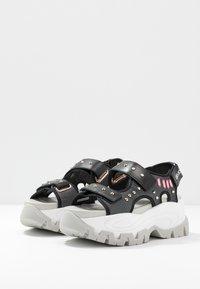 Liu Jo Jeans - WAVE - Platform sandals - black - 4