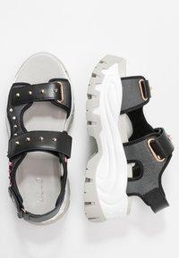 Liu Jo Jeans - WAVE - Platform sandals - black - 3
