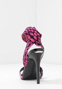 Liu Jo Jeans - NEW BLOOM - High heeled sandals - fuxia - 5