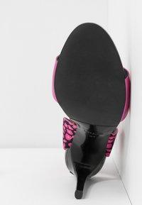 Liu Jo Jeans - NEW BLOOM - High heeled sandals - fuxia - 6