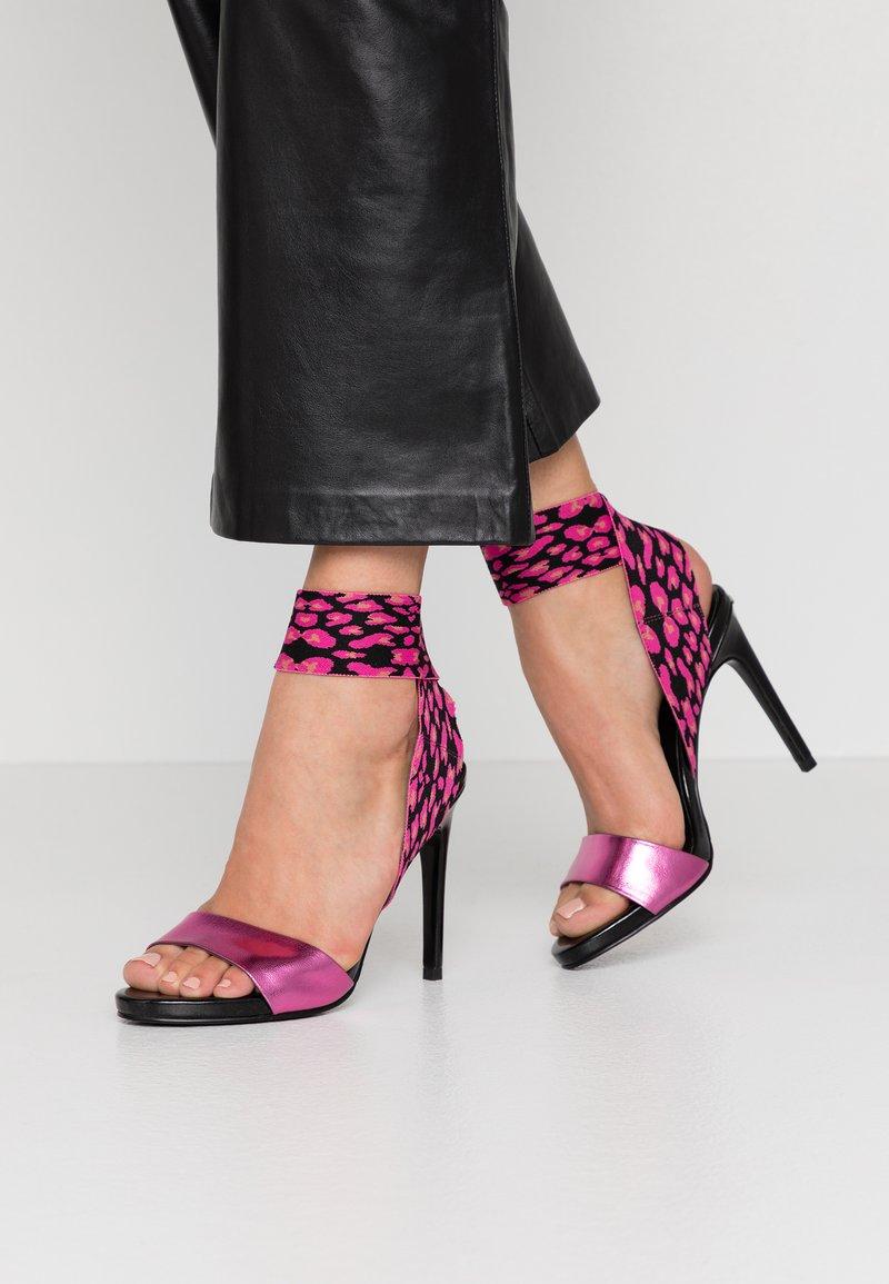 Liu Jo Jeans - NEW BLOOM - High heeled sandals - fuxia