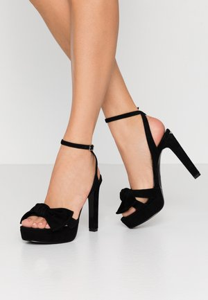 JADA - High heeled sandals - black
