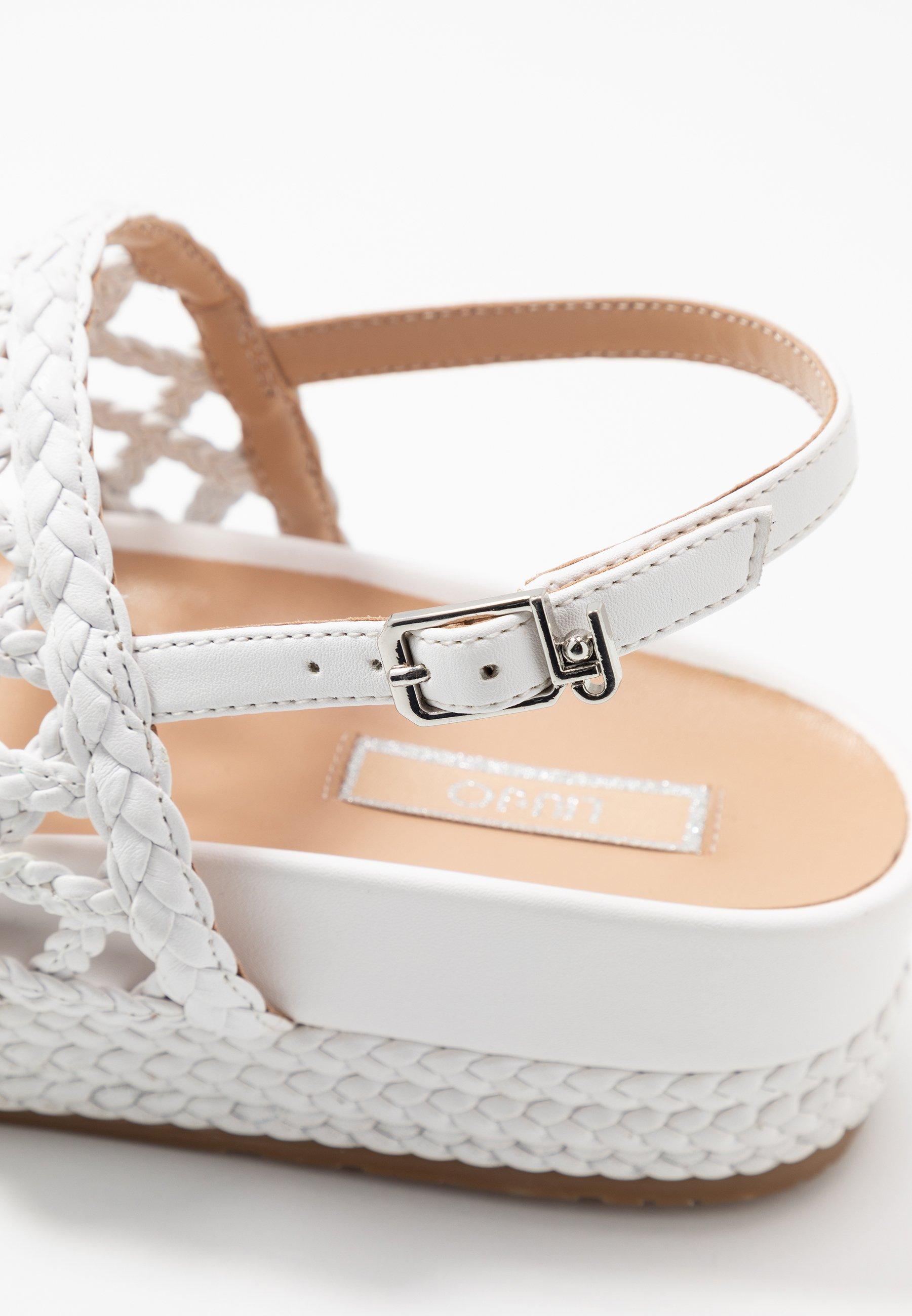 Liu Jo Jeans PATTY - Platåsandaler - white