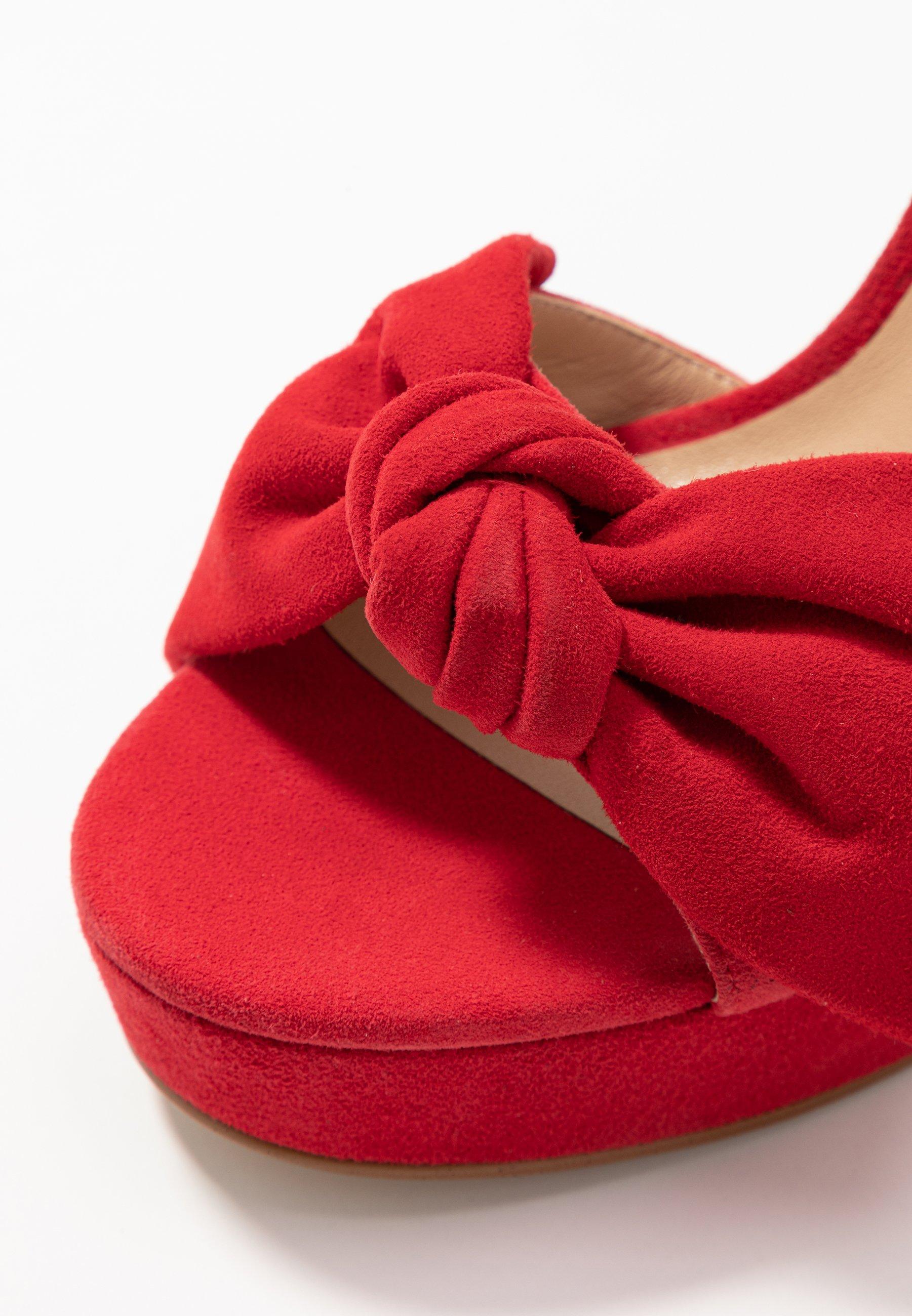 Liu Jo Jeans JADA - Højhælede sandaletter / Højhælede sandaler - red