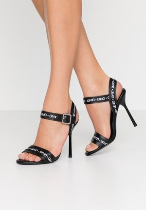 NELLY - High heeled sandals - black