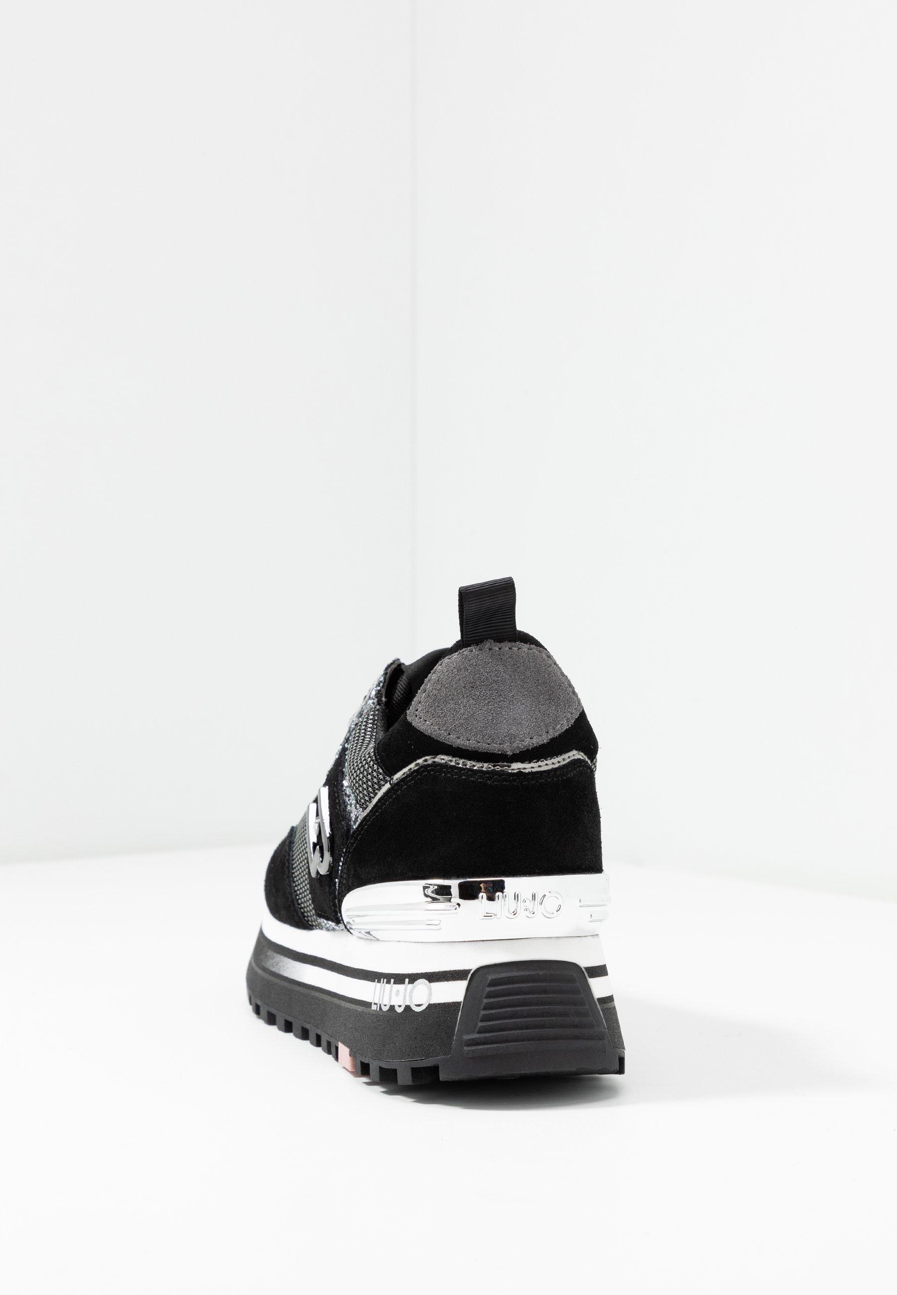 Liu Jo Jeans Maxi - Sneakers Basse Black 5wLWj