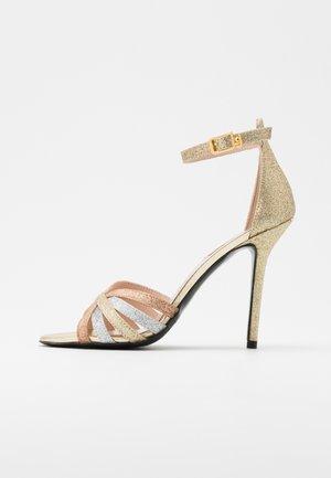NEW BLOOM  - Sandalen met hoge hak - gold
