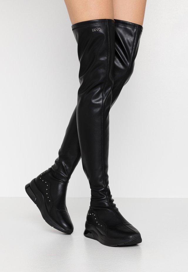KARLIE  - Over-the-knee boots - black