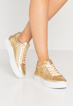 SILVIA - Trainers - metallic light gold