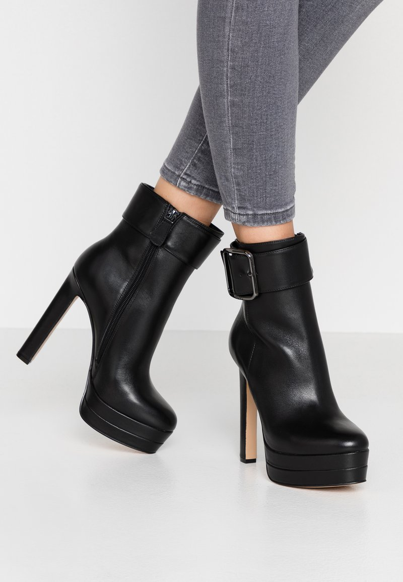 Liu Jo Jeans - INES - High heeled ankle boots - black