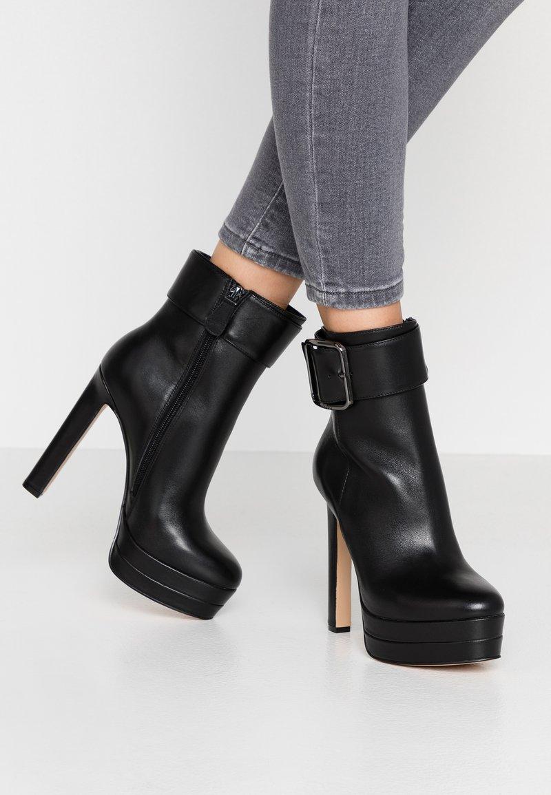 Liu Jo Jeans - INES - High Heel Stiefelette - black