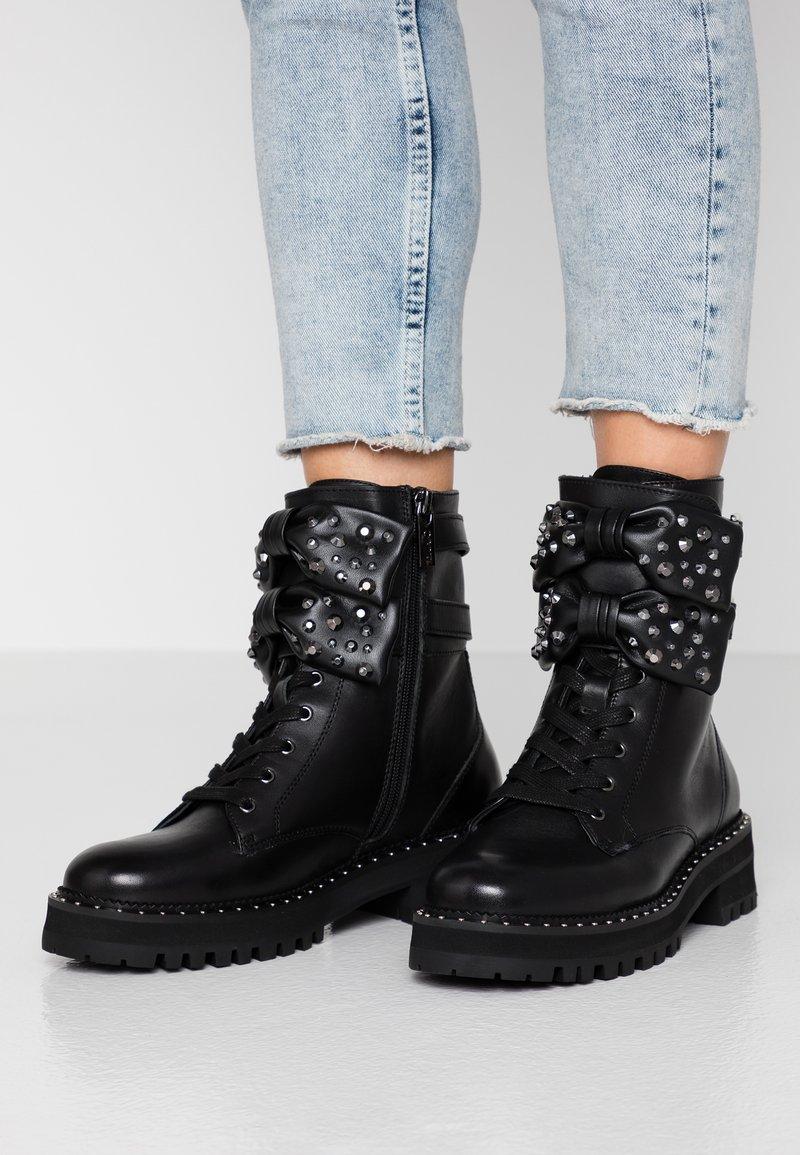 Liu Jo Jeans - Cowboy/biker ankle boot - black