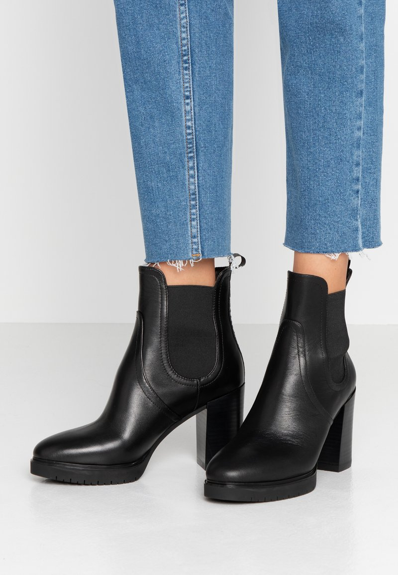 Liu Jo Jeans - ALLY - Bottines à talons hauts - black