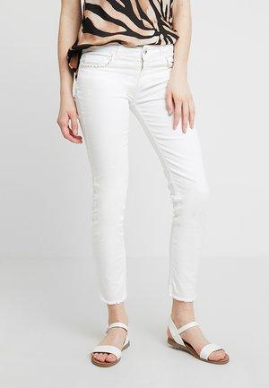 IDEAL - Jean slim - bianco lana