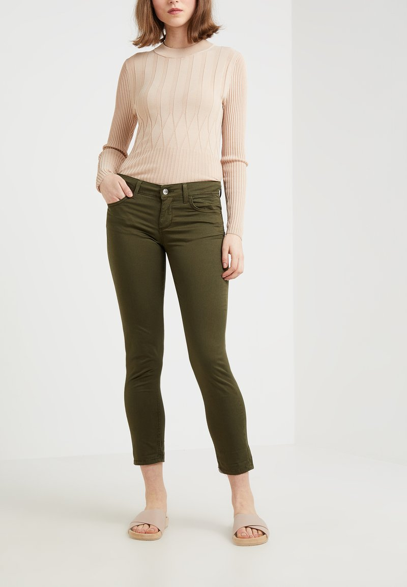 Liu Jo Jeans - MONROE - Pantalon classique - khaki