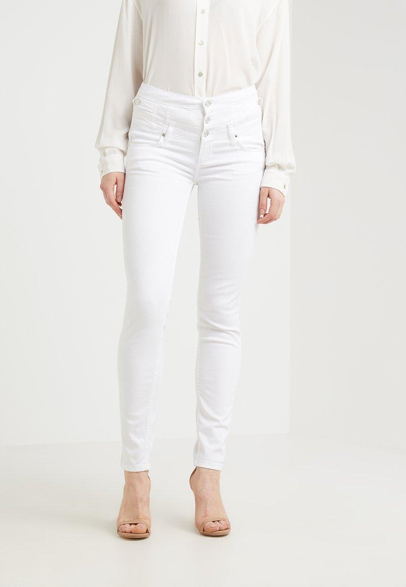 Liu Jo Jeans - RAMPY - Pantalones - bianco ottico