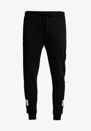 PANT LUNGO - Tracksuit bottoms - nero