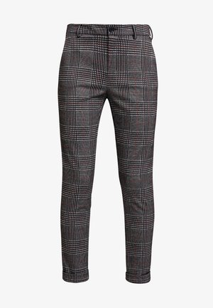 NEW YORK LUXURY  - Trousers - galles nero/grig/red