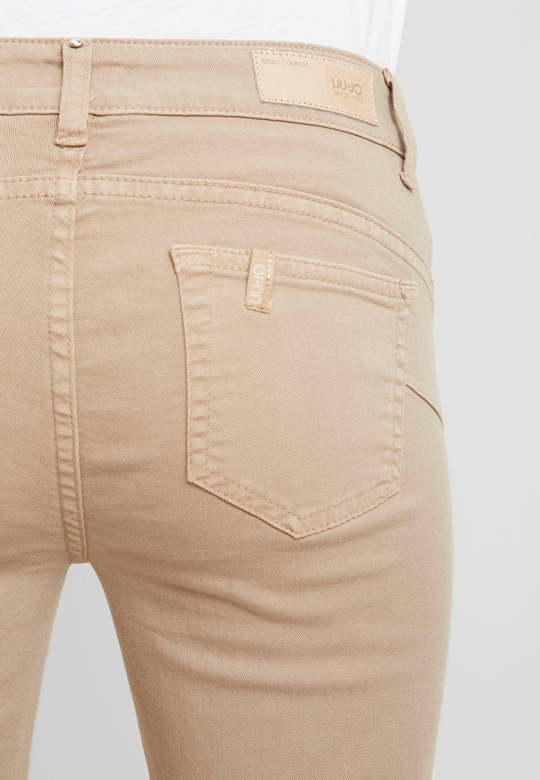 Liu Jo Jeans IDEAL - Jeansy Skinny Fit - coffe shake