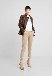 Liu Jo Jeans - IDEAL - Jeans Skinny - coffe shake - 1