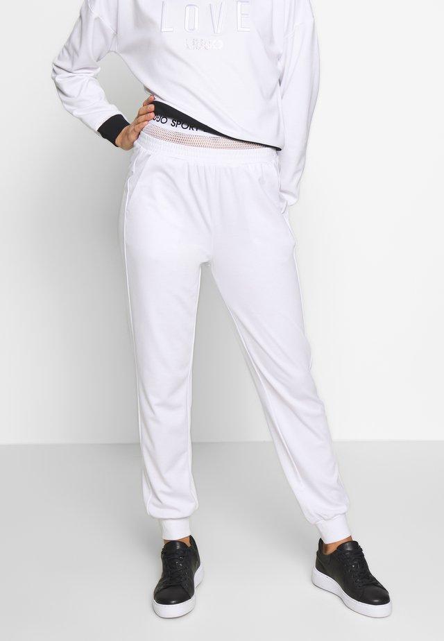 PANT - Træningsbukser - bianco ottico