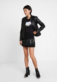 Liu Jo Jeans - GONNA FLOUNCE - A-line skirt - nero - 1