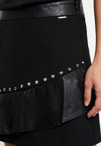 Liu Jo Jeans - GONNA FLOUNCE - A-line skirt - nero - 4