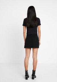 Liu Jo Jeans - GONNA FLOUNCE - A-line skirt - nero - 2